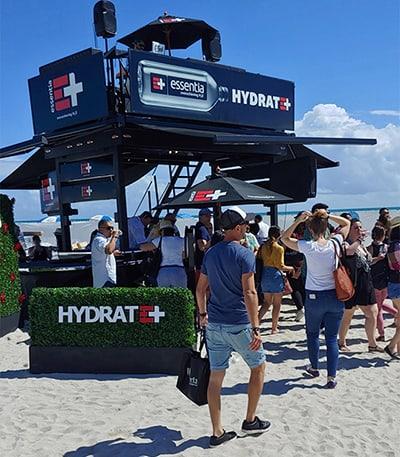 Beach Tasting Booth